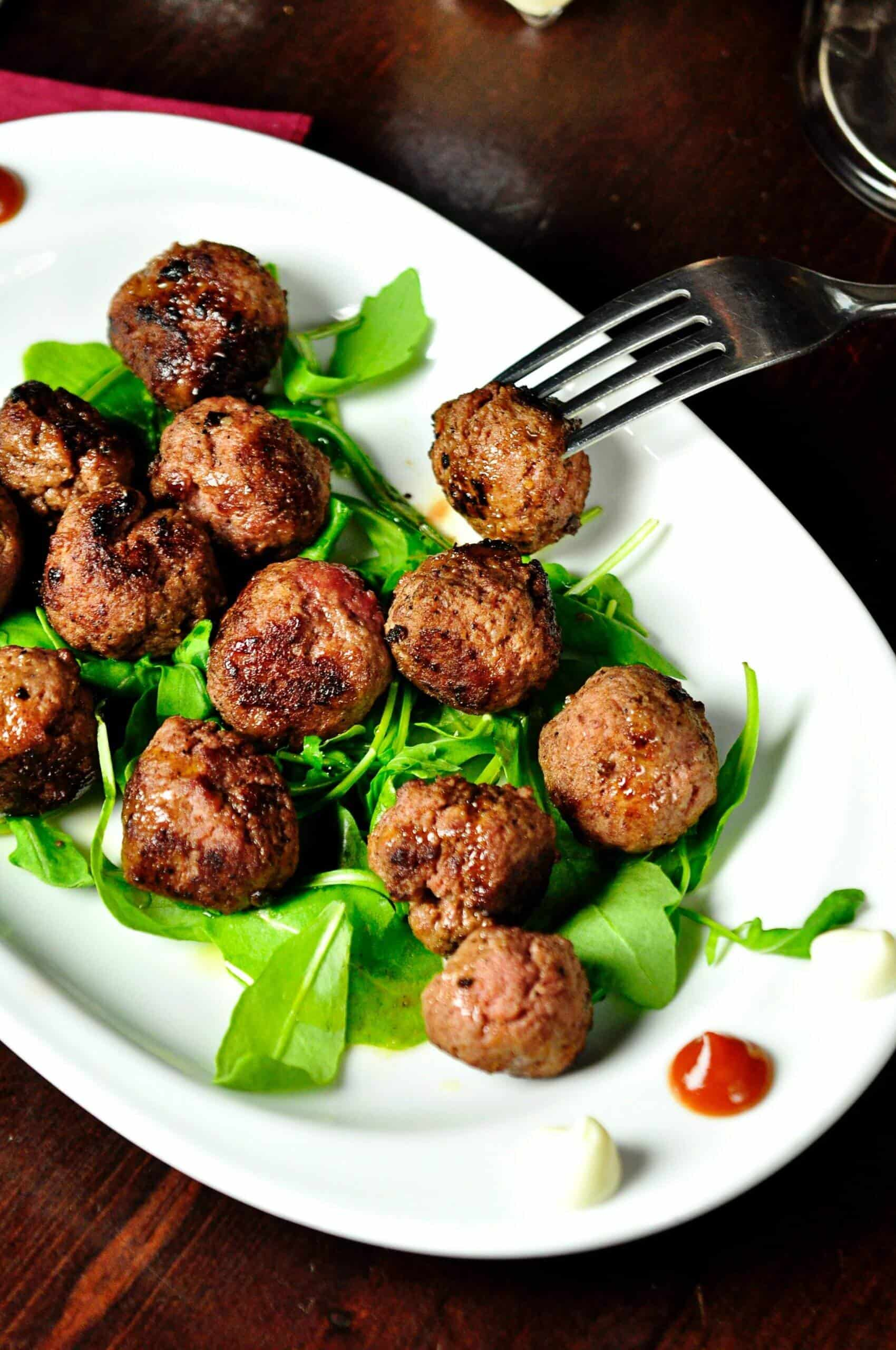 air fryer meatballs cooking time